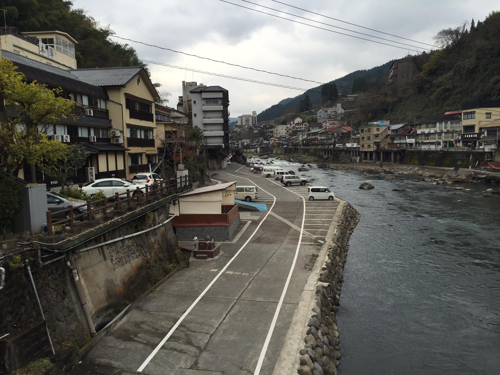 天ヶ瀬温泉(大分県日田市)