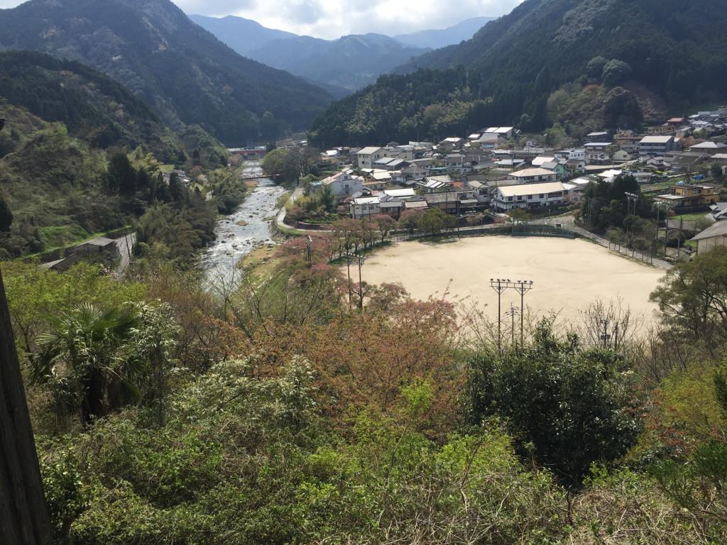 古湯温泉(ふるゆおんせん)俯瞰図