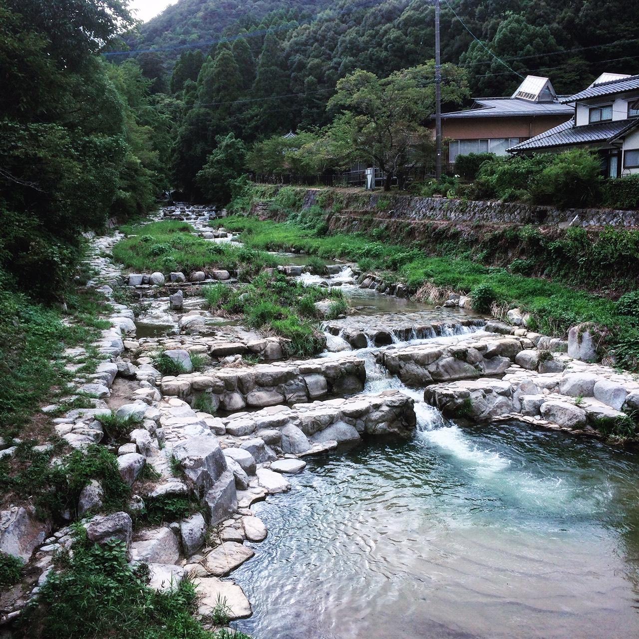 佐賀・古湯温泉の街並み